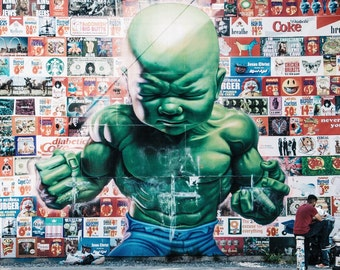 Ron English Mural, NYC
