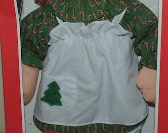 1989 Playskool Christmas Raggedy Ann in the Original Box