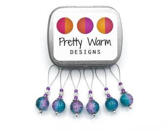 Stitch Marker Set - Large Stitch Markers - Snag Free Stitch Markers - Gifts for Mom - Beaded Stitch Marker - Knitting Supplies - Knitting