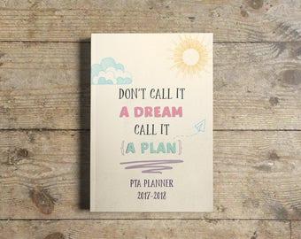 PTA Planner 2017-2018   Printable   Downloadable   (PTFA / PTO / Charity Group)