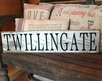 Home Town Custom Wood Signs