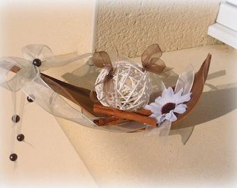 Ivory and Brown ring bearer