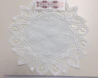 Antique lace doily