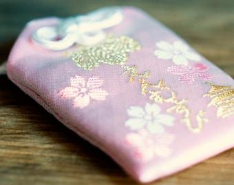 Charm Japan Omamori for LOVE, rose kawaii gift charm artisans in Japan * kink-lov-2
