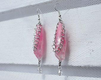 Pink Mistress Earrings