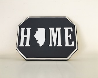 Home State wood sign | Home State Shape | Wall Art Home | State Signs | Home Love | Home State sign | Gallery Wall
