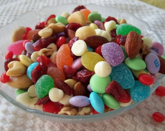 Holly's Special Blend Ultimate Trail Mix- Pastel Delights-YUM YUM-Party Favor, Weddings, Bridal Showers, Baby Showers-