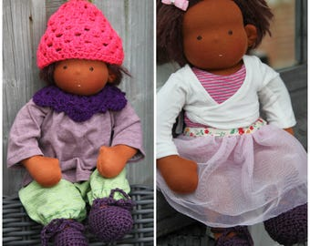 Mariengold Waldorf doll with 2 outfits