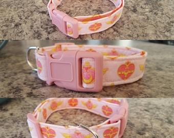 Sailor moon dog collar