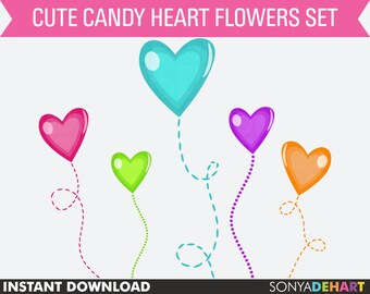80% OFF SALE Clipart Hearts, Valentine Clipart, Digital Hearts, Digital Valentine. Clip Art Hearts