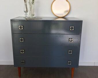 Grey vintage Dresser
