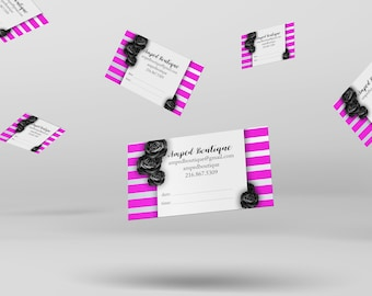 Appointment Card - Stylist, Hair Professional, Nail Professinoal, etc.
