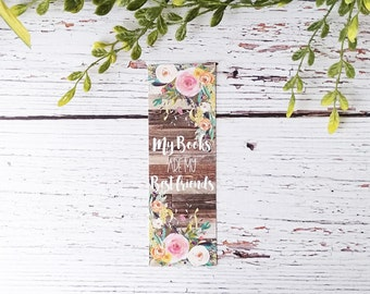 Bookmark - Mother's Day Gifts - Watercolor Art - Teacher Gifts - Book Accessories - Christmas Gift Idea - Book Club Gifts