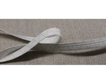 extra elastic Ribbon closes - 8 mm