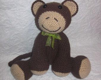 The Adorable Monkey Crochet Pattern