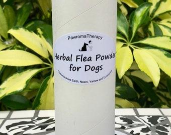 Herbal Flea Powder for Dogs, natural flea control, flea treatment