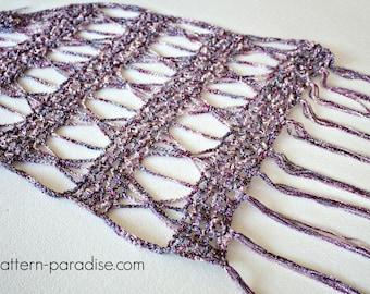 Crochet Pattern for Wrap Super Scarf Shawl Spangle PDF 16-286