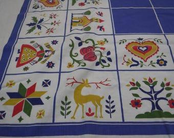 Vintage Square Table cloth