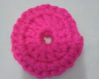 Neon Pink and Portland Wine Facial Scrubbers