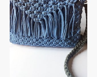 Macrame Bag - Handbag - Boho Bag - Boho Purse - Hobo Bag - Womens Fashion - Boho -Purse -Shoulder Bag - Side bag - Cross Body Bag