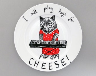 Keys for Cheese side plate