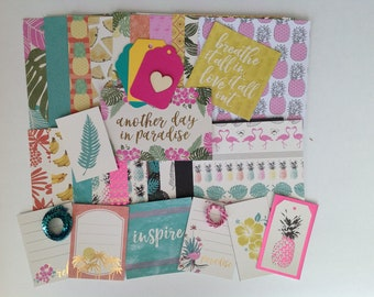 Tropical Paradise paper kit