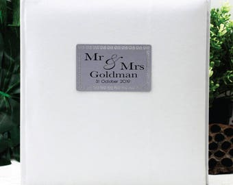 Mr & Mrs Wedding Album - 200 Photo - White
