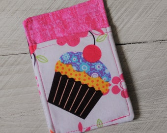 Cupcakes Front Pocket Credit Card Wallet, Travel Wallet