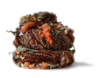 Le Tour du Monde en 80 laines filées Le Malawi handspun yarn