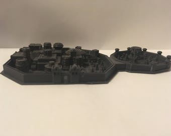 Game of Thrones 3D Printed Winterfell model - GoT