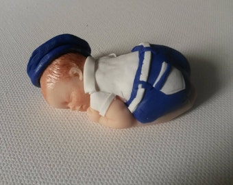 Sailor baby, polymer clay, 6.5 cm, nice one to adopt
