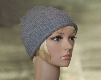 Womens winter hat, Wool hat beanie, Winter wool hat, Hat ladies knit, Knit winter beanie, Womens warm hat, Cap warm knitted, Ladies hat warm