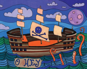 Sail Away Archival Print