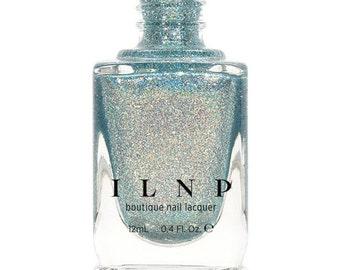 Shoreline - Seafoam Blue Holographic Nail Polish