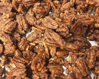 Frosted Cinnamon Sugar Pecans 16 Ounces