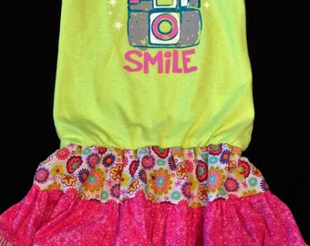 4T Mommy Smile Upcycle Dress