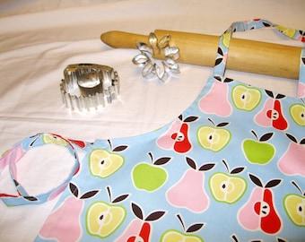 Retro Apples N Pears Child Apron