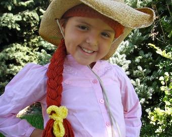 Jessie Toystory Crochet Hat Wig Pattern PDF Instant Download