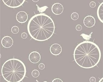 Organic fabric, Mod Basics, Bicycle fabric, Birch organic fabric, Spokes, cycling fabric, Bike fabric, hipster fabric, organic baby fabric