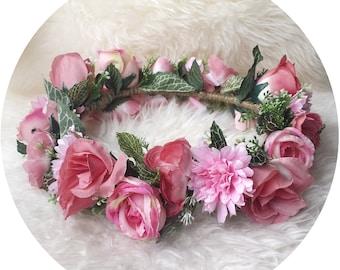I love..  Blushing Flower Crown