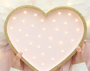 Night Light   Heart Night Light   Heart Lamp   Heart   Heart Bedside Lamp