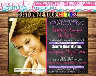 Photo Graduation Invitation 071