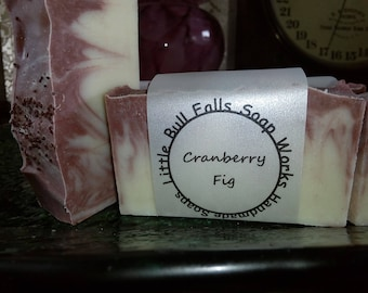 Cranberry Fig Handcrafted Soap