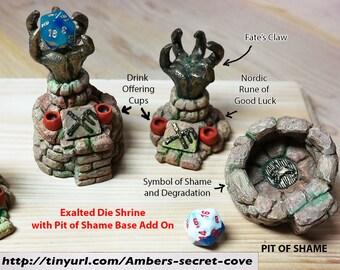 Exalted Die Shrine™ (for Lucky d20's)