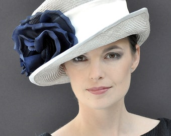 Kentucky Derby Hat, Wedding Hat, Formal Hat, Occasion Hat, Church Hat, Ascot Hat, Ladies Day Hat, Mother of Bride hat,