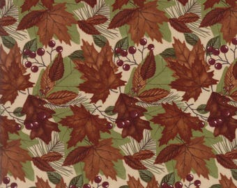Moda COUNTRY ROAD Quilt Fabric 1/2 Yard By Holly Taylor - Sandy Tan 6662 19