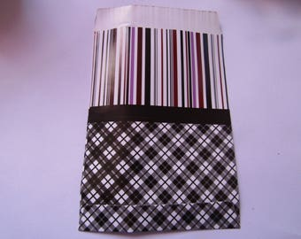 gift pouch, 17cmx10.5cm, glossy paper, pack of 10 pockets, various models