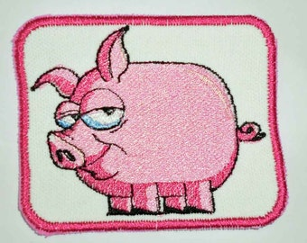 Iron-On Patch - PIG