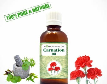Carnation Essential Oil Pure & Natural For Aromatherapy-Therapeutic Grade-Fragrance Oil