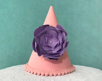 Party Hat | Birthday Party Hat | First Birthday Party Hat | 1st Birthday Party Hat | Cake Smash Birthday Party Hat | Glitter Hat | Party Hat